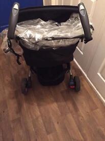 Baby start 3 wheeler pushchair