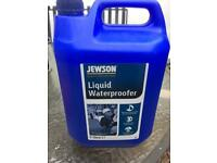 Jewson Liquid Waterproofer 5 litres for cement mortar