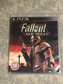 Fallout New Vegas PS3 Game
