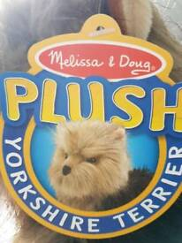 Melissa and Doug Yorkshire Terrier Brand New
