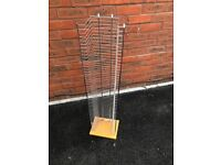 £10 Excellent Condition 50 DVD rack tower storage unit.