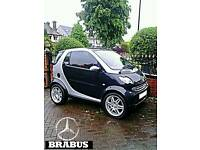 * SMART FORTWO BRABUS AUTOMATIC 40,000 MILES LOW MILEAGE POWER STEERING CHEAPEST SMART BRABUS *