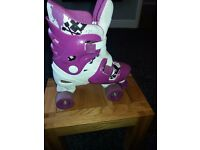 no fear roller skates size 1 to4