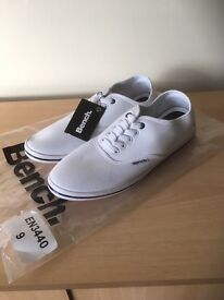 Brand new Bench canvas shoes (Size 9)