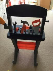 Black & Decker First Builders Work Bench & Tools