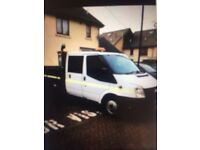 Ford Transit Doublecab Tipper