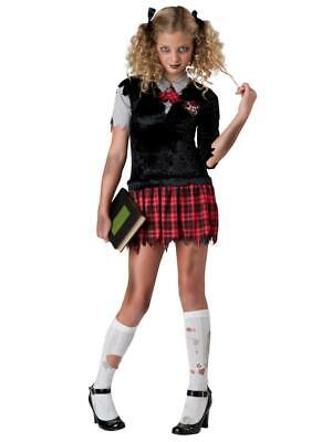 Poison Ivy League School Girl Uniform L 12-14 Costume 18069 FAST SHIP! G37
