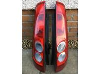 Ford Fiesta Mk6 Rear lights
