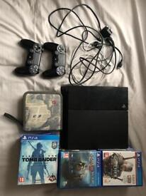 PS4 1TB with 21 amazing games and 2 controllers