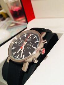 Mondaine chronograph men's watch