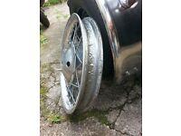 """18"""" British wheel Ariel/BSA?"""