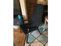 IKEA armchair black