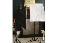 "BPS 1250W Softbox Studio Lighting Kit 50x70cm/20""x28"""