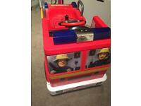 Fireman Sam ride on fire engine
