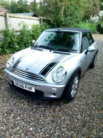 Mini one cabriolet 2007 78k