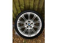 """18"""" BMW E85 AlloyWheels + Tyres"""