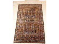 Vintage Traditional Vintage Persian Style Belgium Wool Rug 188cm x 122cm