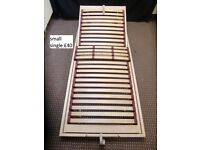 SMALL SINGLE SIZE SLATTED BED BASE SIZE 80x193cm