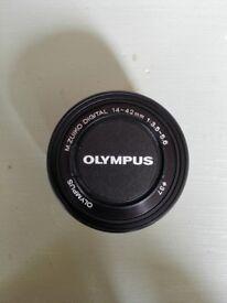 Olympus M.ZUIKO DIGITAL ED 14-42mm 1:3.5-5.6 EZ Lens - Black