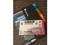 3 day standard camping ticket creamfields open to offers