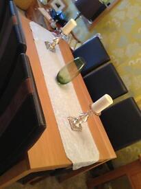 Oak Veneer Table