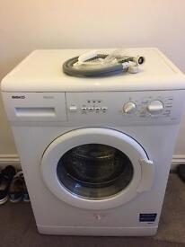 Beko washing machine hardly used.