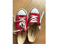 Children's Red Converse shoes