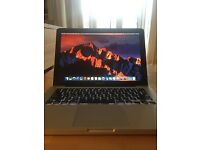 "MacBook Pro 13"" 2.5 i5 16gb ram 500gb crucial SSD"