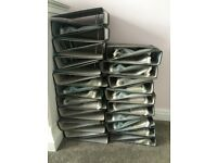 Ring binders, box files & punched pockets for sale (large number, will split for agreed price)