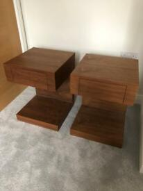 Dwell bedside tables x2