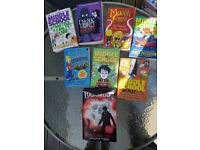 Miscellaneous children 9 to 13 years approx book collections