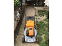 MCculoch petrol self drive lawnmower