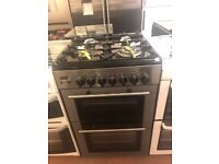 60CM STAINLESS STEEL KENWOOD DUEL FUEL GAS COOKER