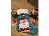 Bundle of Santa decorations