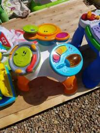 Chicco band activity table