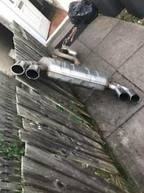 Mk7 golf R exhaust 2013-2017