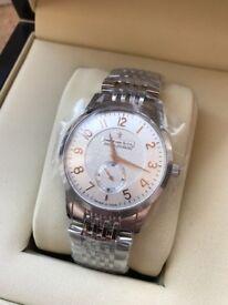 Dreyfuss & Co Silver Bracelet Watch BNIB RRP £450