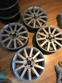 Fiesta st150 alloys 17x7 4x108