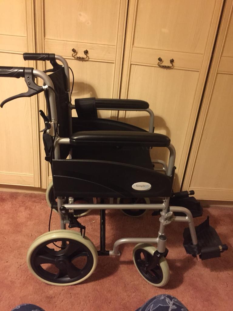Wheel chair simple life mobility | in Wymondham, Norfolk | Gumtree