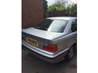 Classic BMW 318i 1997 Silver Manual Starts Drives Alloys Needs Tlc Ideal Project Car!