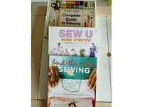 Sewing books SEW U, bend the rules, Amy Karol, guide to sewing CRAFT GIFT
