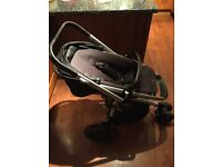 Quinny Buzz Xtra Travel System/Pram/Buggy in black