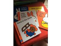 5 Miffy books, Hardback