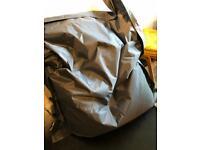 Giant Beanbag - grey, waterproof 180x140