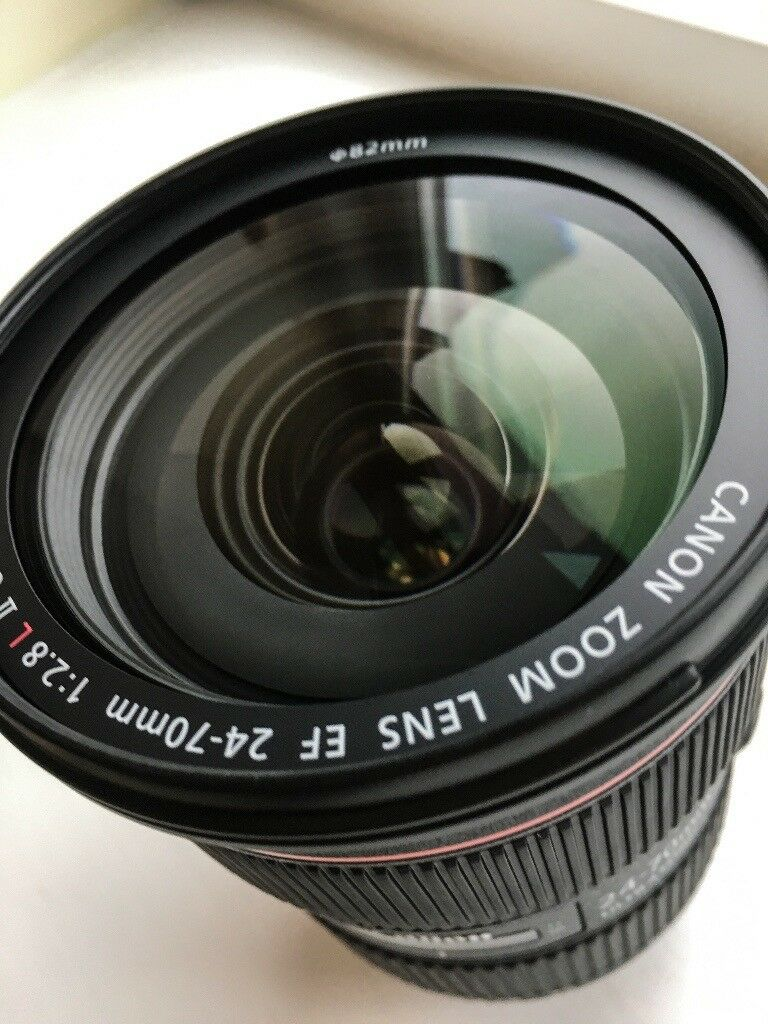 Canon EF 24-70mm f/2.8L II USM - Mint Condition