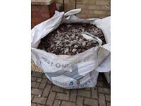 Plum slate - bulk bag