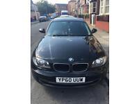 BMW series 1 black car sale