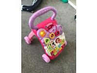 Vtech girls baby walker