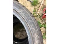 4 x 205/45/17 Bridgestone Tyres