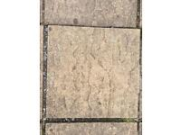 Patio slabs - SOLD